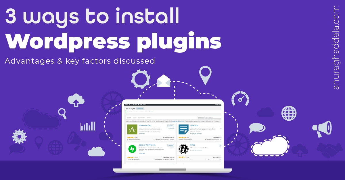 WordPress Plugins: How they work and installation guide